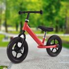 "12"" Kids No-Pedal Balance Train Bike Learn To Ride Pre Bicycle Adjustable Seat"