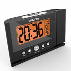 2017 Digital Snooze Alarm Clock Wall Clocks Time Projector Projection +EU Plug