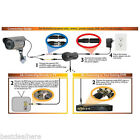 CCTV DVR Camera Recorder Video Security Surveillance BNC Cable DC Power 20M