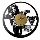 "NEW Vinyl Record Wall Clock ""Harley Quinn #1"", cool modern, decorative art ~ 12"""