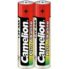 Set of 2 batteries/battery Camélion Alkaline Plus AAA LR03 under cello