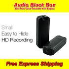 Mini Digital Voice Recorder Listening Device Audio Activated Magnet Anti Theft