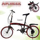 """Practical 20""""Folding Bike 6-Speed Stainless Steel Frame Full LM"""