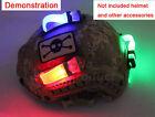 EX234 E-LITE Magic Sticker Waterproof Signal Strobe Light Helmet Accessories