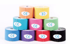 2 Rolls of Kinesiology Sports/Muscle Care Elastic Physio Therapeutic Tape 9Color