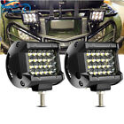 "ATV SXS 4"" inch LED Light Bar Rhino RZR Sand Rail Off Road Spot Spot Dune Buggy"