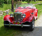 1987 Replica/Kit Makes  1952 MG TD Replica Manifuctured by LONDON MOTORS 1987 Volkswagen Super 8 motor