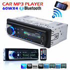 Bluetooth Car Stereo Audio 1 DIN In-Dash FM Aux Input Receiver SD-USB MP3 Radio