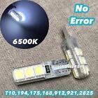 PARKING LIGHT T10 LED 6000K bulb No Canbus Error w5w 168 194 2825 12961 For Audi