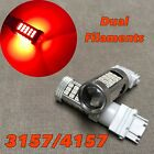 Tail Brake Stop Light RED samsung 63 LED bulb T25 3157 3457 4157 FOR Volkswagen