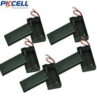 """5pcs with 6"""" Cable Leads w/Wires and Switch 2xAA/2A 3V Battery Clip Holder Case"""