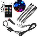 72 LED DC 12V Multi-color Car Interior Music Light LED Underdash Lighting Kit