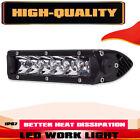 1x Slim 8inch LED Single Row Work Light Bar Spot Flood OFFROAD DRIVING LAMP