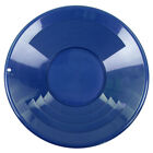 "14"" BLUE Plastic Gold Pan w/ Shallow & Deep Riffles for Gold Grospecting"