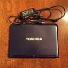 Toshiba NB305 ROYAL BLUE Netbook Computer USED