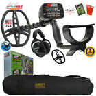 Garrett AT MAX Metal Detector, MS-3 Headphones, Hat, Coil Cover and Carry Bag