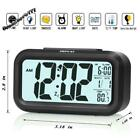 "4.6"" Smart Backlight 75db Extra Loud Alarm Clock with Dimmer Heavy Deep Sleepers"