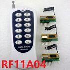 12CH 433M RF Wireless Transceiver Codech kit for Arduino MCU AVR Relay PLC Smart