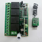 USB UART Arduino PC Software RF Wireless Control 12V 4 Channel Relay Receiver