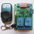 MultiFunction DC 12V RF Wireless Relay On OFF Open Close Switch Delay Time Timer