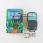 MultiFunction DC 5V RF Wireless Relay On OFF Open Close Switch Delay Time Timer