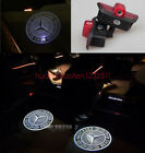 2X LED door step courtesy laser projector light For Mercedes C-Class W204 07-13