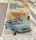 Chilton Datsun F10 – 310 Nissan / Stanza Repair Service Manual 1976 – 82