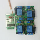 12V 433MHz Transmitter Control Delay Relay Receiver Kits Wireless Bulb System