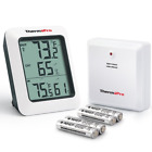 ThermoPro TP60 Digital Hygrometer Indoor Outdoor Thermometer Humidity Monitor wi