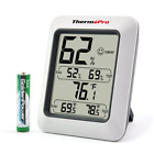 ThermoPro TP50 Digital Hygrometer Indoor Thermometer Humidity Monitor with Tempe