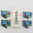 5V 433MHz RF Delay Timer Wireless 1 pcs 4 buttons Remote control 4 pcs Receiver