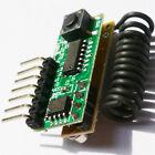ASK Super Heterodyne Fixed Code Decoder Receivers  RF Wireless Modules 433MHz