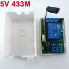 DC 5V 433MHz Wireless RF Relay Control Switch On/off Switch + Delay Time Timer