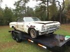 1965 Chevrolet Impala Convertible SS Chevy 1965 Impala SS Conv 327-4V engine nice Project or very good parts Car...