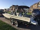 2015 SeaArk Big Easy Boat