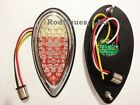 Flat Mount Red & Amber LED Taillights Brake Tail Turn Dune Buggy Sandrail F39AR