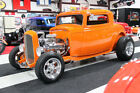 1932 Ford Model A  CUSTOM PAINT, FORD MODEL A HI-BOY THREE-WINDOW COUPE, SUICIDE DOORS, PWR WINDOWS