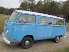 1972 Volkswagen Bus/Vanagon Westfalia Camper NO RESERVED, HIGHEST BID WINS! WESTFALIA CAMPER WITH ALL INTERIOR PARTS, Z-BED