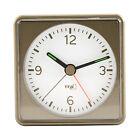 60.1016.08 La Crosse Technology TFA Silent Sweep Analog Electronic Alarm Clock
