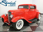 1932 Ford 3 Window Coupe  BEAUTIFUL PAINT, HASTINGS GLASS BODY, CHEVY 350 V8, AUTO, A/C, LEATHER, NICE!!!
