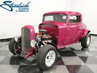1932 Ford 3 Window Coupe  FORD IN A FORD W/ FUEL INJECTION! READY 2 GO W/ A/C, RACK & PINION, DISC BRAKES!