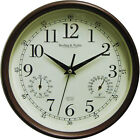 Mainstays Indoor/Outdoor Large Clock Wall Antique Bronze Home Patio Top Quality