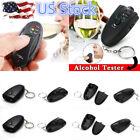 US Digital Alcohol Tester Personal Breathalyzer Mini Keychain Detector Analyzer