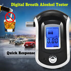 Pro Police Digital Breath Alcohol Tester LCD Breathalyzer Analyzer Detector US