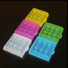 5pcs Portable Hard Plastic Battery Case Box Holder Storage For AA AAA Batteries