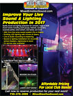 pro concert sound & lighting equipment Complete turnkey system for sale