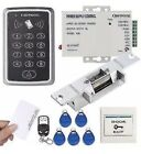 UHPPOTE 125KHz RFID EM ID Keypad Single Door Access Control Kit With Strike Lock