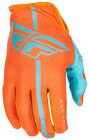 Fly Racing MX Motocross MTB BMX 2018 Men's LITE Gloves (Orange/Blue) Choose Size