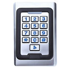 Stainless Steel Metal 125K EM ID Card With Keypad Standalone Access Control Case