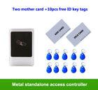 waterproof Metal standalone access control, 125K ID EM Card Reader Keypad